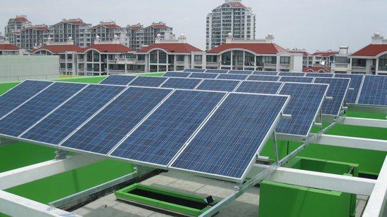 光伏宝Solarbao光伏崇明岛30kw商业项目