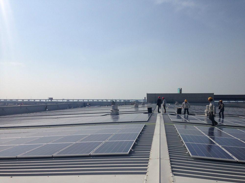 光伏宝Solarbao光伏嘉定60kw项目