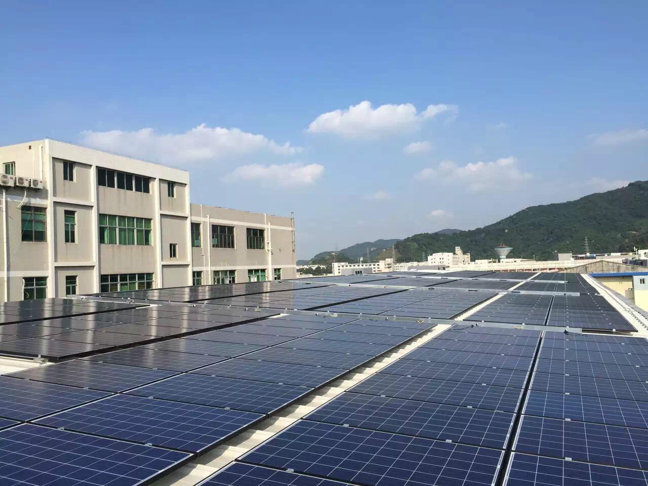 光伏宝Solarbao光伏松江100kw并网项目